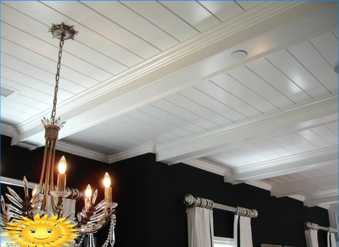 Design del soffitto a travi