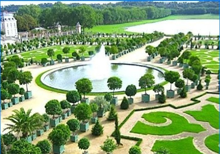 Parco a Versailles, in Francia
